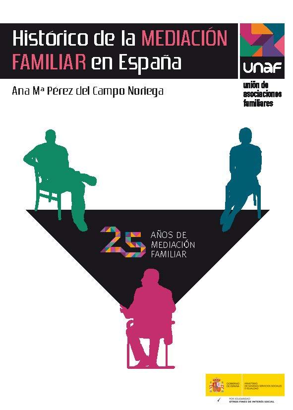 """""""Histórico de la Mediación Familiar en España"""", nueva edición actualizada"""