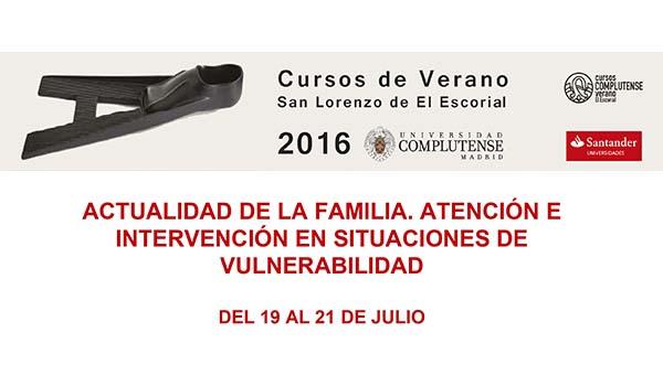 UNAF organiza un curso de verano de la Complutense sobre intervención con familias en situación de vulnerabilidad