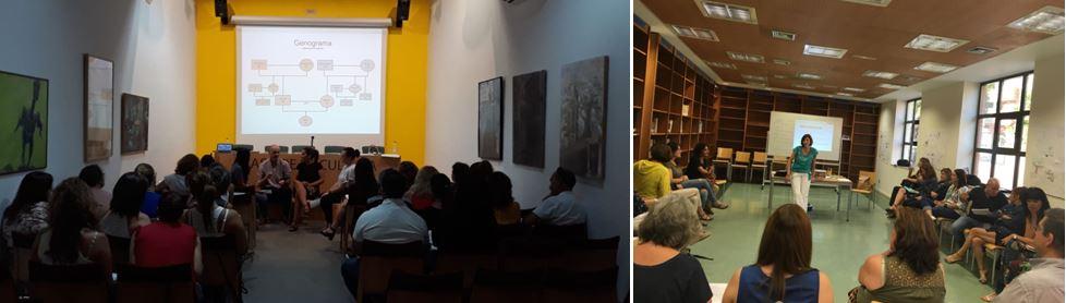 UNAF sensibiliza en mediación familiar e intergeneracional a profesionales y familias, en Madrid y Sevilla
