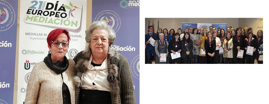 UNAF premiada con la Medalla al Mérito Profesional en Mediación