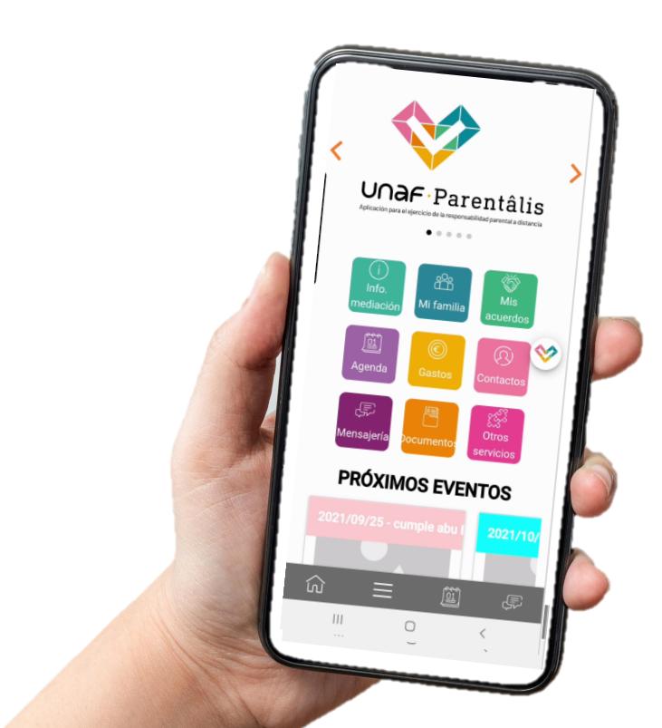 UNAF Parentâlis, la nueva aplicación para facilitar la coparentalidad